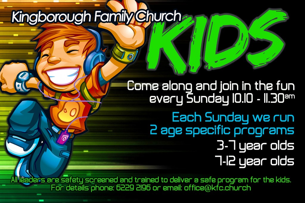 Kids Church at Kingborough Family Church